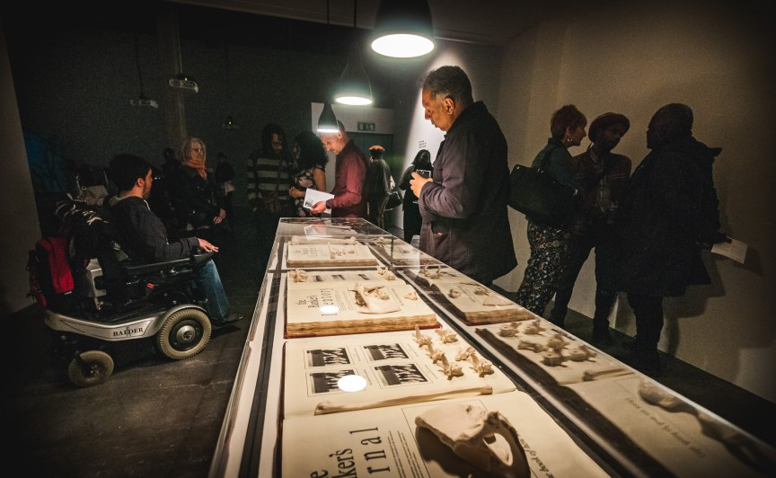 Launch of Keith Piper - Unearthing the Bankers Bones , March 2017