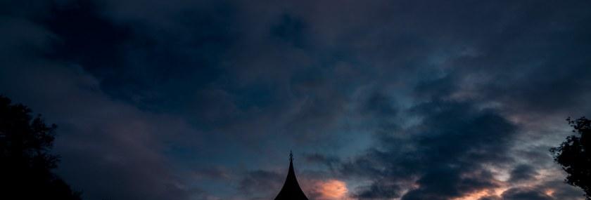 Arboretum bandstand by dusk…