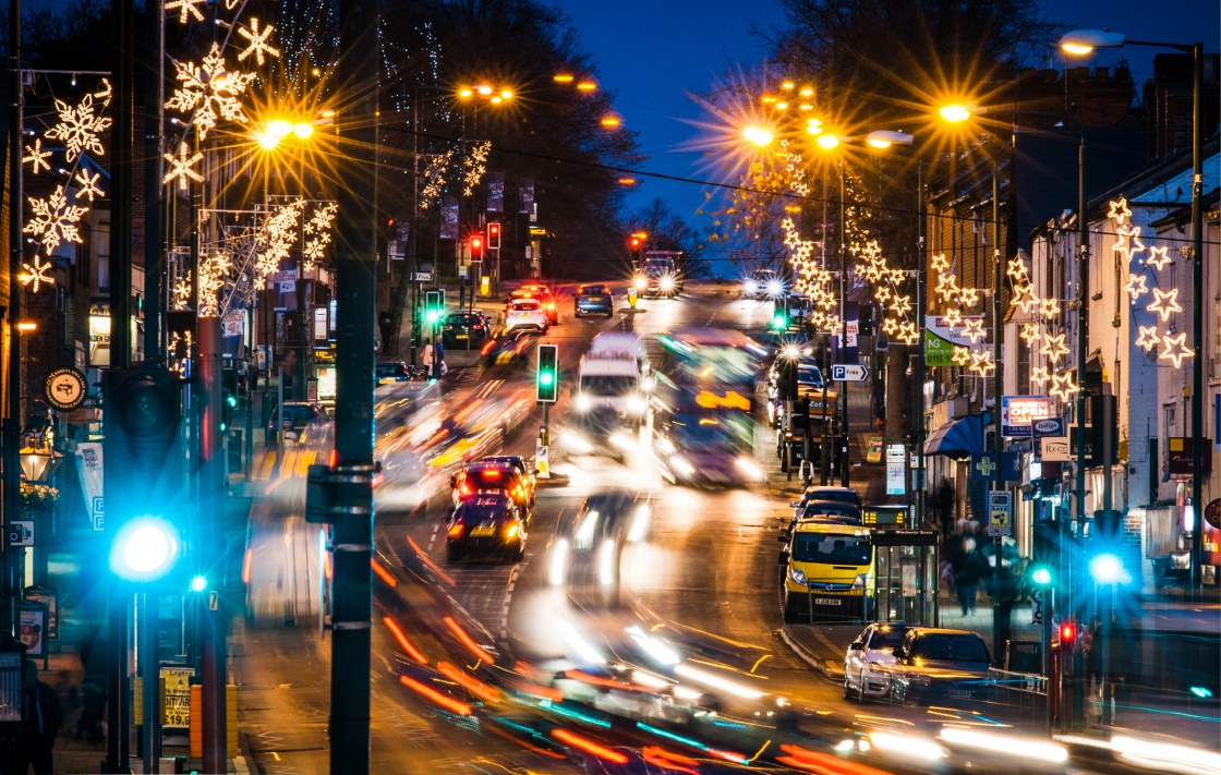 The Christmas Rush – Sherwood , Nottingham