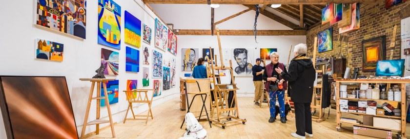 Open House '17 – Creative Spaces , Trinity Buoy Wharf