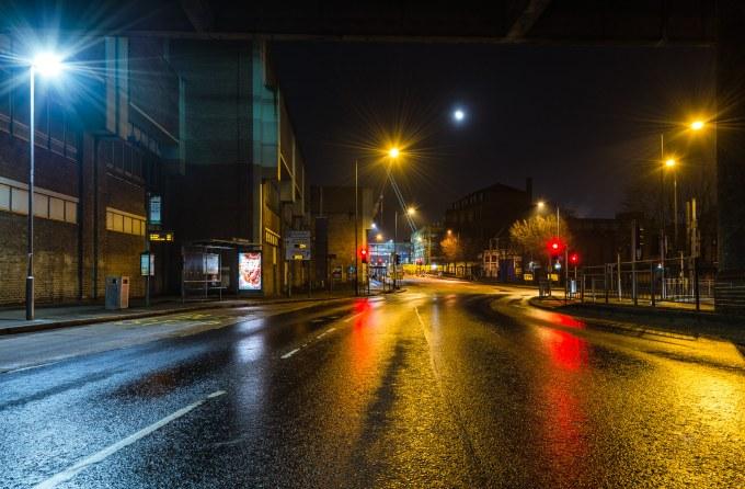 Unusual Views – Collin Street , Nottingham