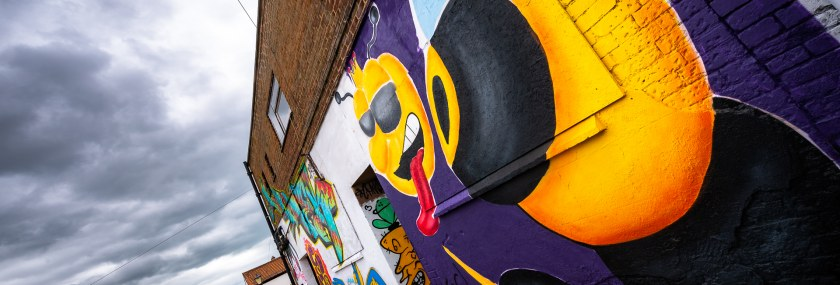 Colour and Vibrancy – Beeston Street Art Festival