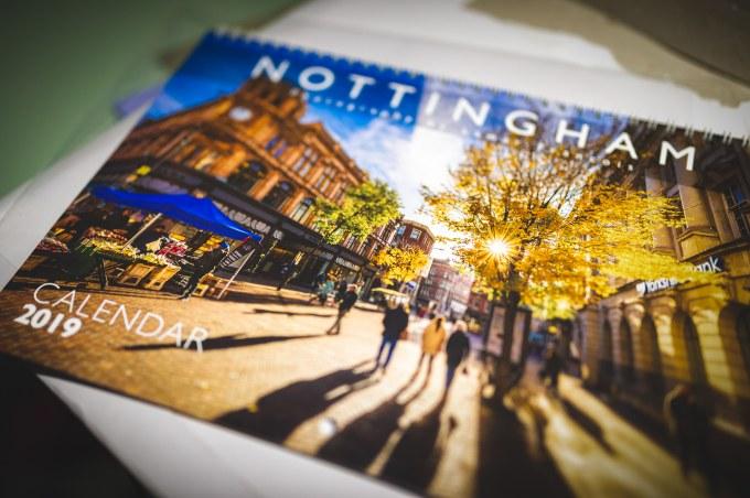 Nottingham Calendar 2019!