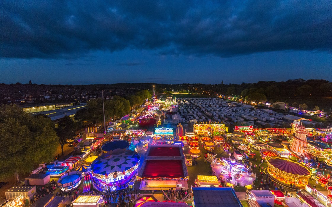 From the Big Wheel – Goose Fair '17