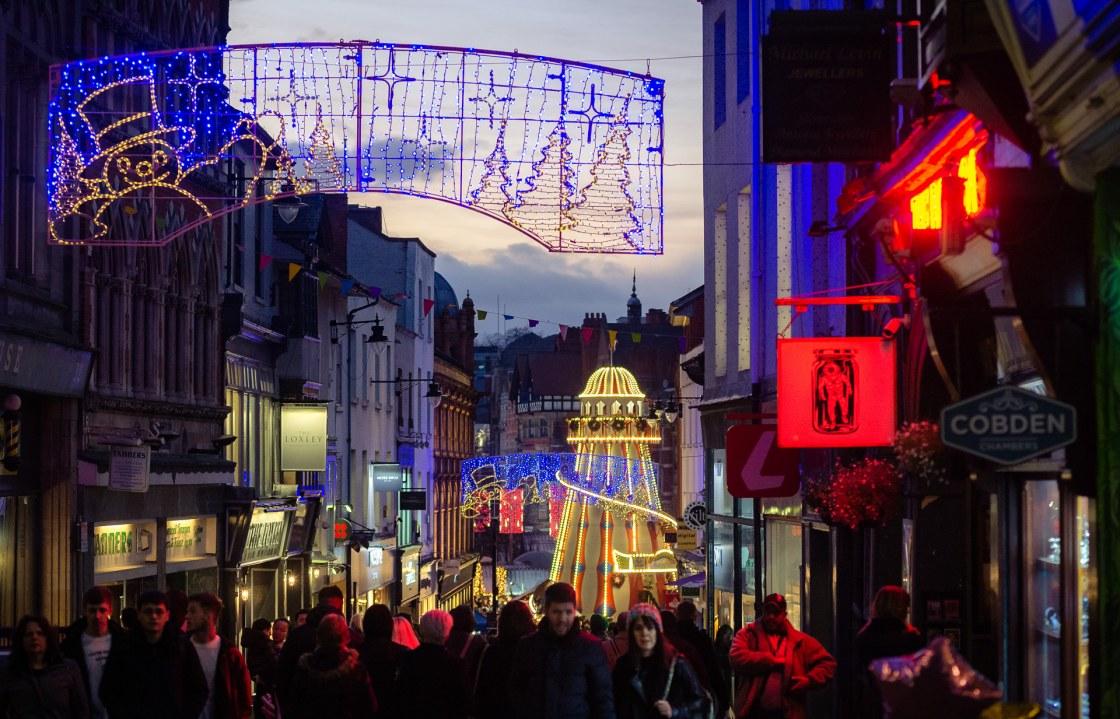 Merry Christmas – Pelham Street , Nottingham