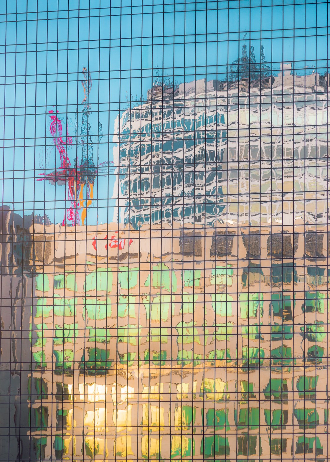 HSBC HQ , Reflected