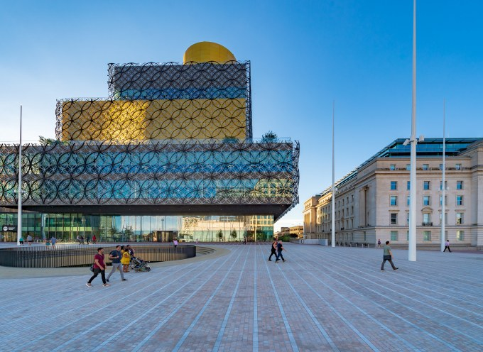The Library of Birmingham – July 2019