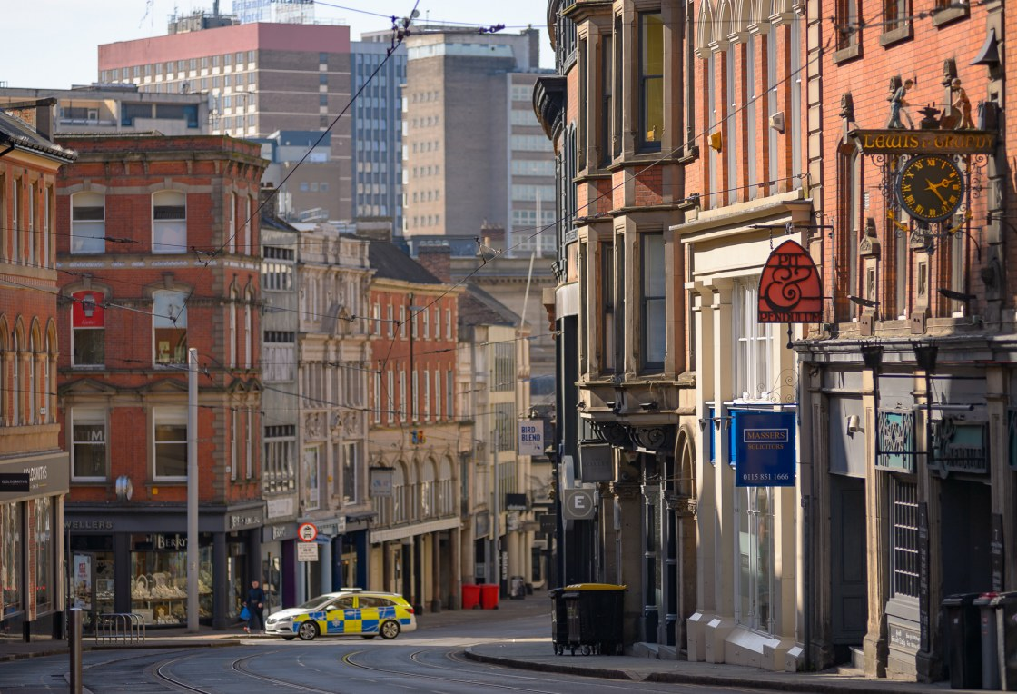 Nottingham in Lockdown Part 1