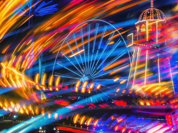 Abstract limited edition of Goose Fair